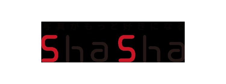 写真がもっと好きになるshasha ロゴ