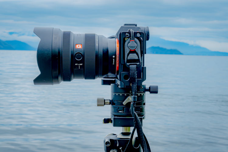 SONY FE 12-24mm F2.8 GM装着図