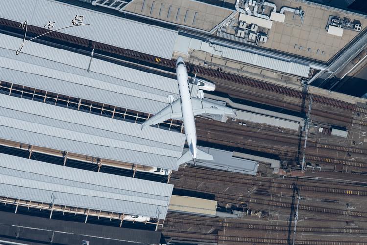 空撮カット例