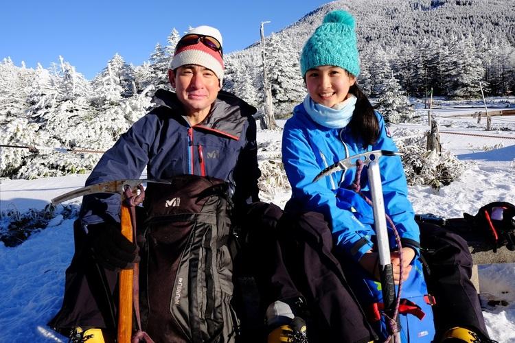 野口健x絵子写真展「父娘てくてく登山隊」