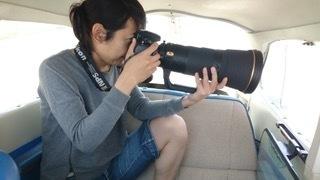 セスナ機内写真