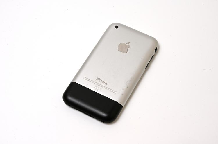 物撮り初代iPhone