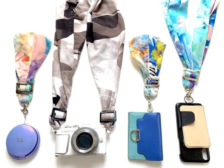 カメラとスマホにサクラスリングを装着した画像