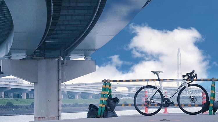 ロードバイクをフォトジェニックに撮影.JPG
