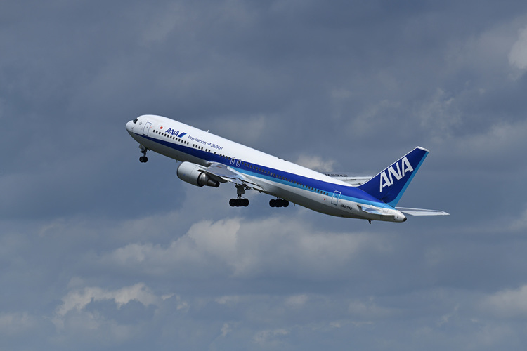 離陸した飛行機を撮影した写真.JPG
