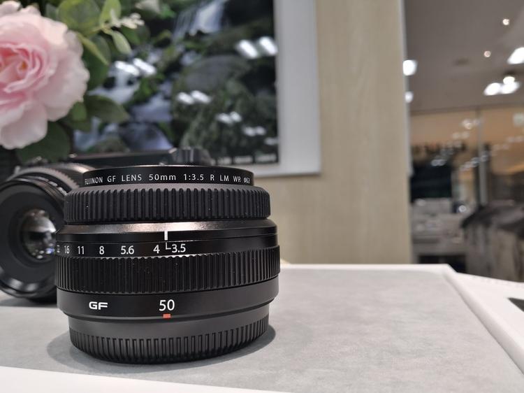 GF50mmF3.5 R LM WR外観