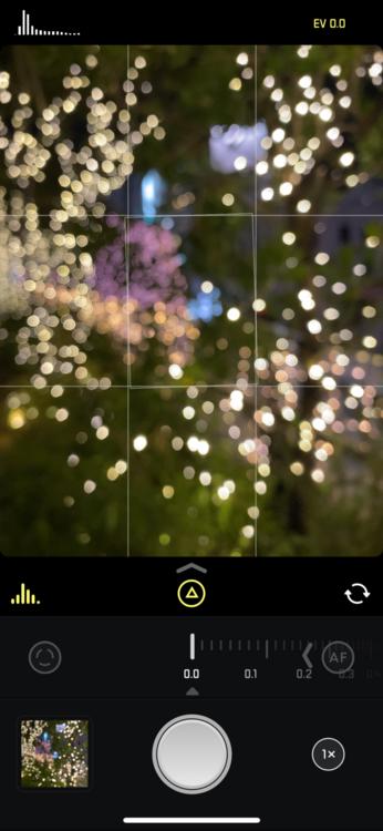 イルミネーション撮影アプリ1