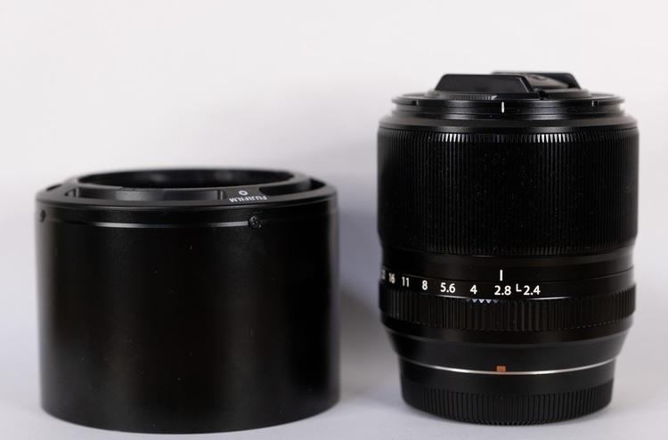 XF60mmF2.4 R Macro外観